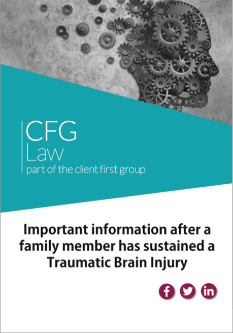Traumatic brain injury family member